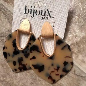 Bijoux Bar Drop Earrings NWT